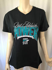 BNWT Ladies Sz 18 AFL Football Port Adelaide V Neck Short Sleeve Stretch Top
