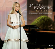 Dream With Me In Concert (Cd/Dvd) - Jackie Evancho (2011, CD NEUF)2 DISC SET
