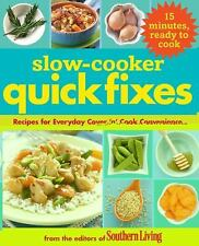 Slow Cooker Quick Fixes: Recipes for Everyday Cover 'n Cook Convenienc-ExLibrary