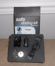 ZOMM Safe Driving Kit Talk Hands Free F/ Wireless Leash USB Car Charger & Cable