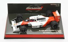MINICHAMPS MCLAREN MP4-4 HONDA V6TURBO ALAIN PROST VICE WORLD CHAMPION 1988 1:43