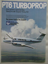 5/1981 PUB PRATT & WHITNEY CANADA BEECHCRAFT SUPER KING AIR PT6 TURBOPROP AD