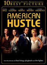 American Hustle DVD 2014 Widescreen R Best Picture Golden Globes Used