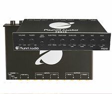 PEQ10  PLANET AUDIO 4-Band Parametric  Half-DIN Equalizer With AUX-Input