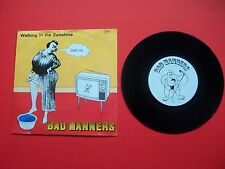 "Bad Manners – Walking In The Sunshine - UK 7"" 45 Picture Sleeve - MAG 197 EX+/G"