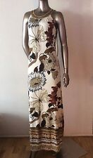 NWT Hale Bob sleeveless maxi butterfly abstract print shift dress size S