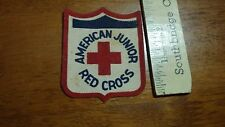 VINTAGE AMERICAN RED CROSS AMERICAN JUNIOR RED CROSS    PATCH BX 4 #3