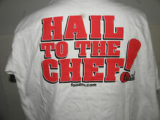 FOOD-TV NETWORK HAIL TO THE CHEF T-SHIRT SIZE LARGE N WOT