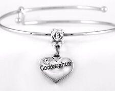 Goddaughter Bracelet Goddaughter Gift Goddaughter Bangle Goddaughter Present