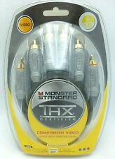 Monster Standard THX V100CV 4' component video cable