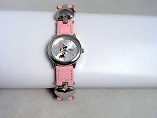 Walt Disney Minnie Mouse Timeworks Pink Cartoon Watch