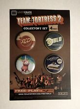 Team Fortress 2 collectible pin set (new, Lootcrate exclusive)