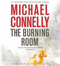 Book on tape: The Burning Room by Michael Connelly (2014, CD, Abridged), Ret $30
