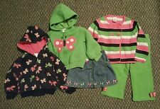Girls Gymboree 3T outfits Butterfly Lot pants hoodie skirt spring summer 3 4
