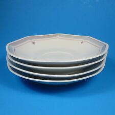 Villeroy & Boch Heinrich ARIANO Saucers Set of 4 Saucer Germany