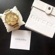 Diesel Men's Little Daddy DZ7287 Gold Stainless-Steel Chronograph Quartz Watch