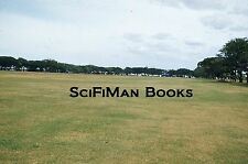 KODACHROME Red Border 35mm Slide Philippines Clark Air Force Base Parade 1952!!!