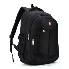Swiss bag Laptop Backpack 15.6'' Notebook Shoulder Travel School Bag Rucksack