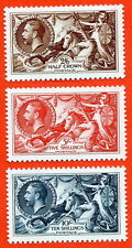 1934 Seahorse Set SG. 450 – 452. Unmounted mint Royal Mail official reproduction