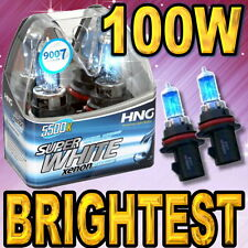 9007 HB5 Super White Xenon HID Headlight Bulbs For High Low Beam