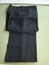 US NAVY USN ALL RANKS RATES E/M CPO & OFFICERS PB SERVICE & DRESS BLACK PANTS 36