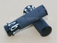 "1""25mm Edge Cut Handle Bar Hand Grips For Harley Sportster Touring Dyna Softail"