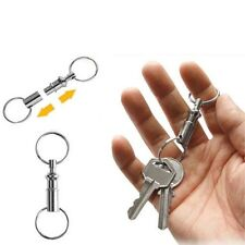Fashion Pretty Key Rings Detachable Removable Pull Apart Quick Release Keychain