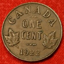 1922 CANADA SMALL CENT COLLECTOR COIN CHECK OUT STORE L@@K *$ CASC26