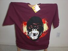 KING KONG  T-SHIRT LARGE NEW RED NEW WITH TAGS