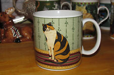 WARREN KIMBLE – 'CAT COLLECTION' Mug CALICO - Black & Brown Striped Cat Cup
