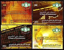 UAE 2010 ** Mi.990/93 Investitionsschutz Securities & Commodities Authority