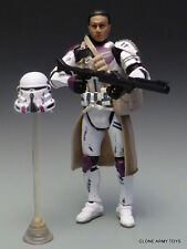 STAR WARS CLONE COMMANDER TROOPER MACE WINDU ATTACK BATTALION BATTLE PACK LOOSE