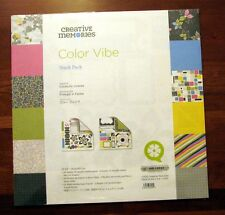 Creative Memories Color Vibe Specialty 12x12 Paper Stack Pack