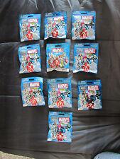 Mega Bloks MARVELPeople Minifigs Mystery Bag Set of 10 Packs NIP Series 3