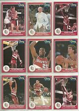 1984-85 Star Company Franz Portland Trailblazers 13-card Team Set Clyde Drexler