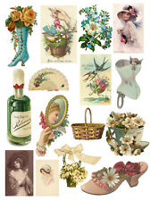 "18x24""Decoration poster.Room Interior art design.Victorian styles adornment.7446"