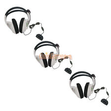 Lot 3 Big Live Headset Headphone With Microphone for XBOX 360 Slim Controller