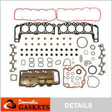 04-07 Jeep Commander Grand Cherokee 4.7L SOHC Full Gasket Oil Pan Set