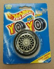 HOT WHEELS 'ALL PRO YO YO' TIRE AND RED 3 FANCY RIM VINTAGE 1990