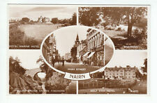 Nairn Royal Marine Golf View Hotel High Street 1954 Real Photograph Valentines