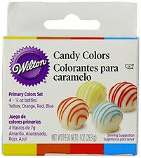 4-bottle Set Kit Safe Candy Melt Oil-Based Colors Bakeware Decorating Food Tool