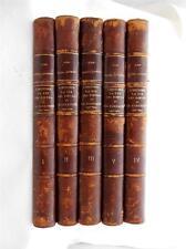 5 Vol L'Histoire la Vie les Moeurs et la Curiosite  l'Image, Pamphlet, Document