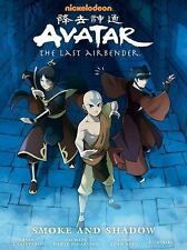 Avatar the Last Airbender Smoke and Shadow Library Edition Hardcover