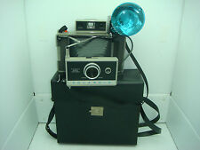 POLAROID AUTOMATIC 330 LAND CAMERA AND CARRYING CASE