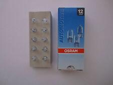 20 Stück Osram Lampe 12V 3W W2.1 x 9.5d Glassockel W3W  Glassockellampe 2821