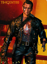Enterbay Terminator Judgment Day T2 T800 Battle Damaged BD 1/4 HD Arnold