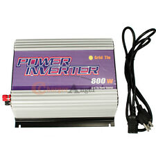 600W MICRO GRID TIE POWER INVERTER Solar Panel DC 22V-60V to AC 110v/120V
