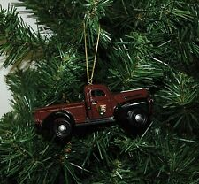 National Park Service 1942 Ford Pick Up Truck Christmas Ornament
