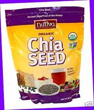 2 x 32 oz Bag  Nutiva ORGANIC CHIA SEEDS Superfood of Aztecs! NON-GMO Vegan Raw
