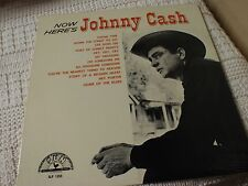 SUN LP 1255 JOHNNY CASH NOW HERE'S JOHNNY CASH  MONO M-